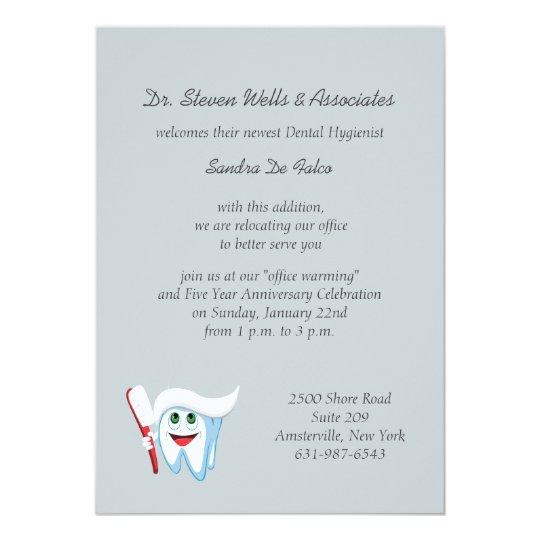 Rugby invitations announcements zazzle brush and tooth dental announcementinvitation invitation stopboris Images