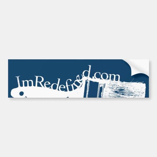 Brush Bumper Sticker
