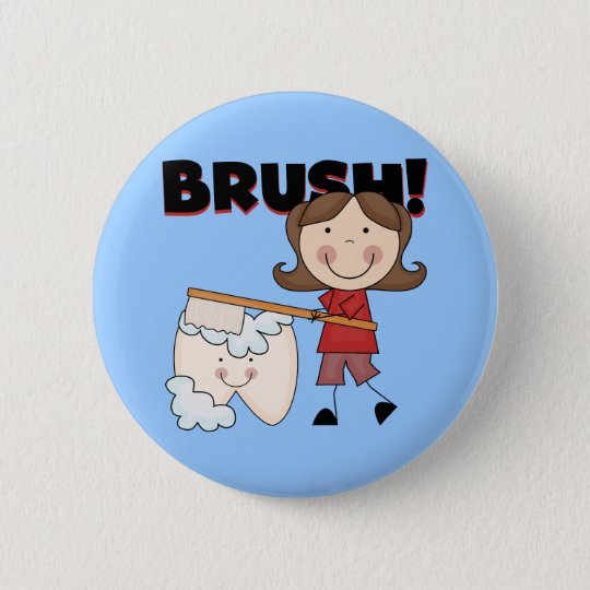 BRUSH - Girl With Tooth Tshirts and Gifts