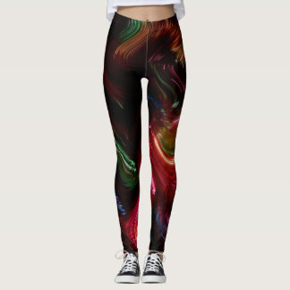 Brush Of Colour Leggings