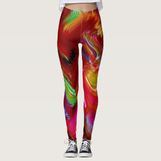 Brush Of Colour Vivid Leggings