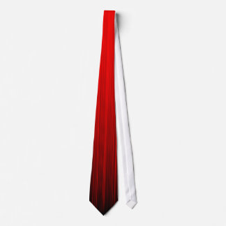 Brush Stroke Fade Red Tie