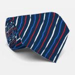 Brush Stroke Striped Neckties