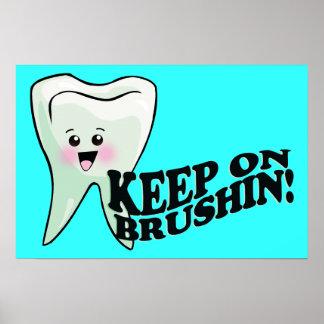 Brush Those Teeth! Poster