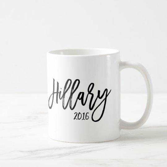 Brush Typography - Hillary 2016 Coffee Mug