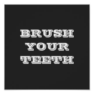 BRUSH YOUR TEETH Part 2 Poster
