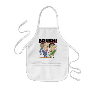 Brush Your Teeth T-shirts and Gifts Kids' Apron