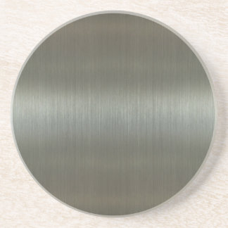 Brushed Aluminum Coaster