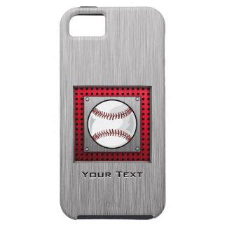 Brushed Aluminum look Baseball iPhone 5 Cover