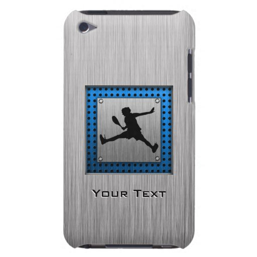 Brushed Aluminum look Tennis Barely There iPod Case