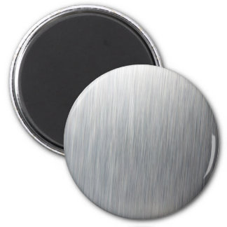 Brushed Aluminum Metal Magnet