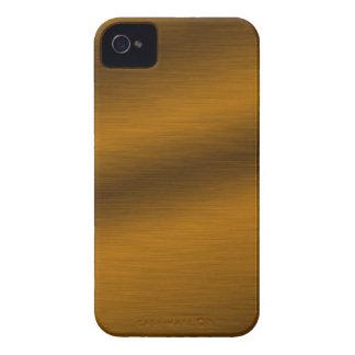 Brushed Bronze Background iPhone 4 Case