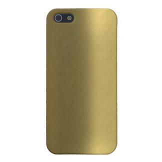Brushed Bronze Look Iphone 4 case