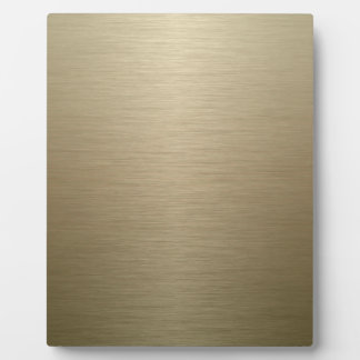 Brushed Bronze Plaque
