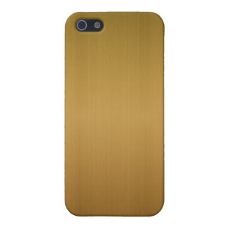 Brushed Copper iPhone 5/5S Covers