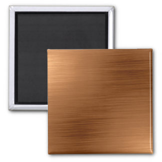 Brushed Copper Look Magnet