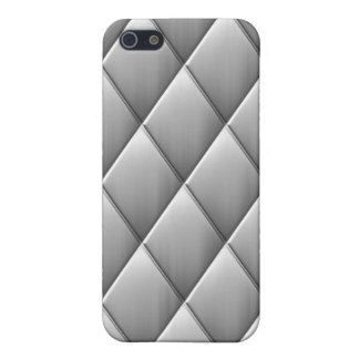 Brushed Diamond Squares Cases For iPhone 5