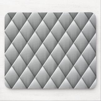 brushed diamond squares mouse pad