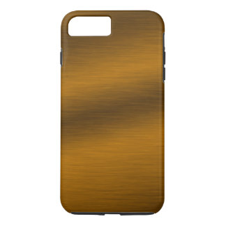 Brushed Faux Bronze Background iPhone 7 Plus Case