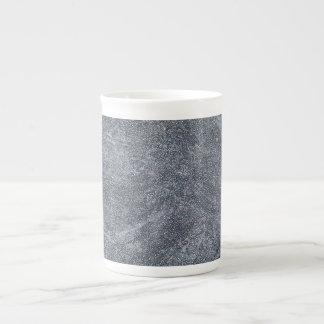 Brushed Grey Stone Granite Texture Background Bone China Mug