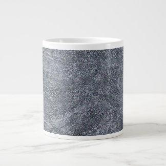 Brushed Grey Stone Granite Texture Background Jumbo Mug