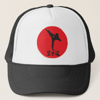 Brushed Karate Trucker Hat