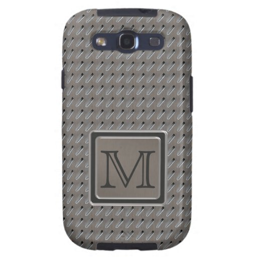 Brushed Metal Grille Look with Monogram Galaxy SIII Case