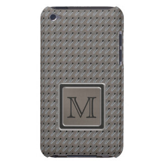 Brushed Metal Grille Look with Monogram Case-Mate iPod Touch Case