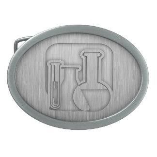Brushed Metal-look Chemistry Belt Buckle