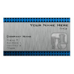 Brushed Metal-look Chemistry Pack Of Standard Business Cards