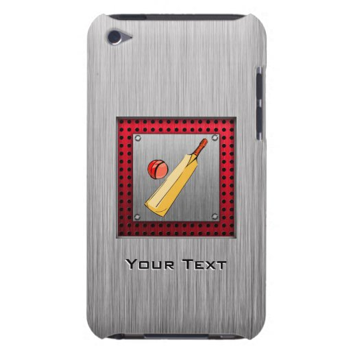 Brushed metal look Cricket Barely There iPod Covers