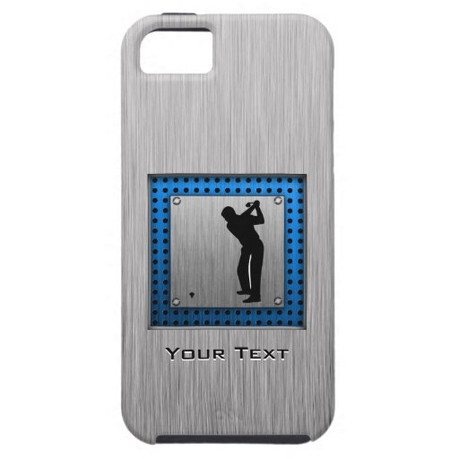 Brushed metal look Golf iPhone 5/5S Cover