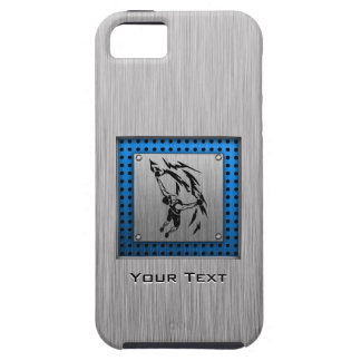 Brushed Metal look Rock Climbing iPhone 5 Covers