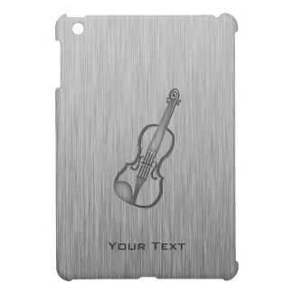 Brushed metal-look Violin iPad Mini Cases