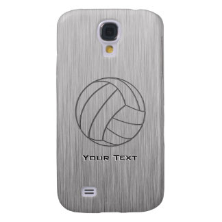 Brushed Metal-look Volleyball Galaxy S4 Case