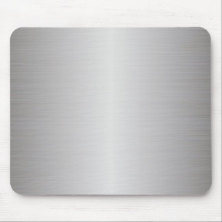 brushed metal mouse pad