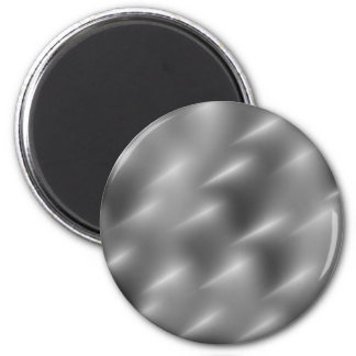 brushed metal swirls refrigerator magnets