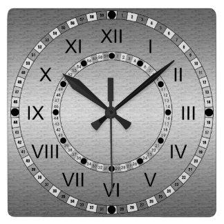 Nickel Clocks Nickel Wall Clock Designs Zazzle