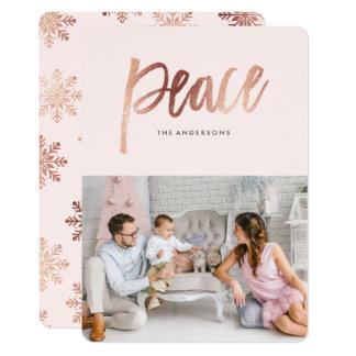Brushed Peace 13 Cm X 18 Cm Invitation Card