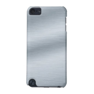 Brushed Silver Background iPod Touch 5G Case