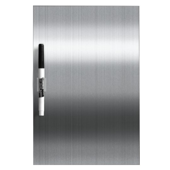 Brushed Stainless Dry Erase Board