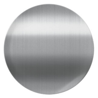 Brushed Stainless Plate