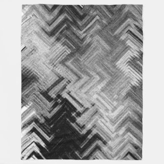 Brushed Steel Fleece Blanket by C.L. Brown