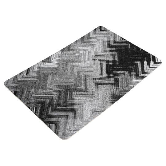 Brushed Steel Floor Mat by C.L. Brown