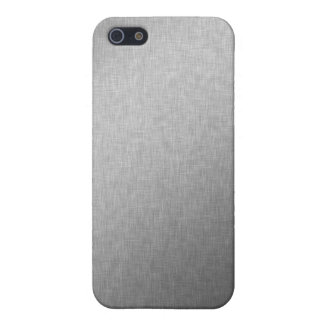 Brushed Steel iPhone Case iPhone 5/5S Covers