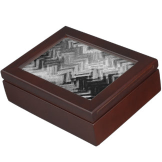 Brushed Steel Keepsake Box by Artist C.L. Brown