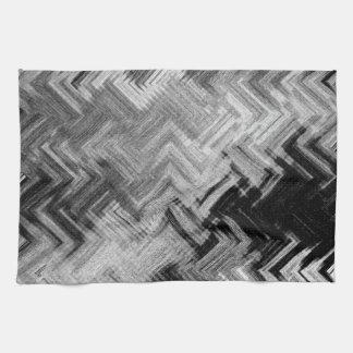 Brushed Steel Kitchen Towel by Artist C.L. Brown
