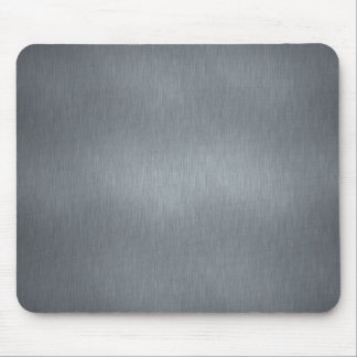 Brushed Steel Mouse Mat