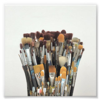 Brushes Photo Print