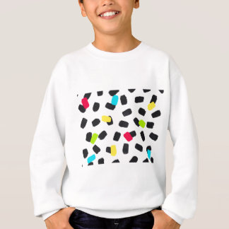 Brushstroke Brights Sweatshirt